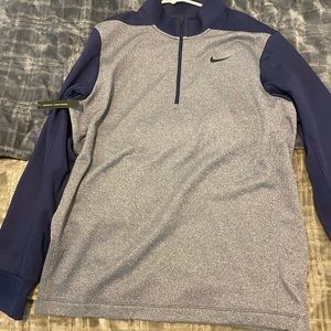 Navy Blue Nike Dry Fit sweater